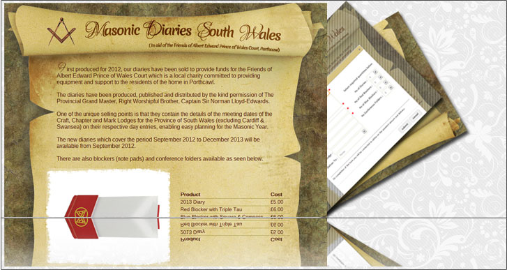 Masonic Diaries South Wales